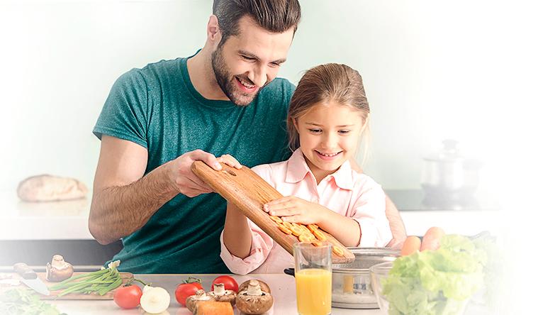 alimentação saudavel também previne diabetes